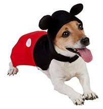 Rubie's Official Mickey Mouse Dog Costume - Black/red, Medium #fbd - £19.04 GBP