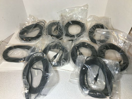 10 LOT New 25ft BNC DC Power Combo CCTV Video Cable CCD Security Camera ... - $19.75