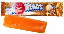 Airheads ORANGE 36 pack Orange Airheads taffy Airhead bulk candy FRESH - $7.97