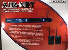 VocoPro - AIR-NET - 20-Channel 2.4GHz 1RU Wireless Audio Transmitter System - $315.75