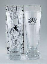 Kosta Boda Limelight Highball Pilsner Glasses w/ Original Box Nice - $92.28
