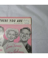 Vintage 1945 And There You Are Weekend at the Waldorf Sheet Music Leo Feist - $4.94