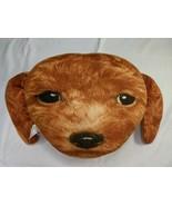 "Golden Doodle Pillow Plush Dog Face 11"" Stuffed Animal Toy - $8.95"