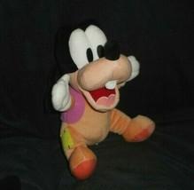 """10 """" Disney Bambini Parchi Bambino Pippo : Peluche Peluche Lovey Numero ... - $20.29"""