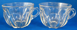 Heisey Colonial Punch Cup Set of Two Pair Of Cups Elegant Glass 1940s - $16.00
