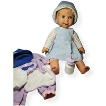 """Miracle Moves Baby Real Feel Skin 2002 Mattel Baby Doll 19"""" - $98.99"""