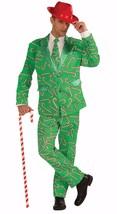 Forum Novelties Candy Cane Suit Christmas Xmas Holiday Costume Adult Men... - $49.95+