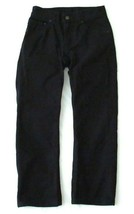 Boys Levis 505 Straight Black Denim Jeans Size 10 Reg Short! Brushed Cot... - $9.99