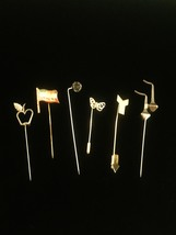 Vintage 40s/60s Collectible Stick pins/Hat Pins