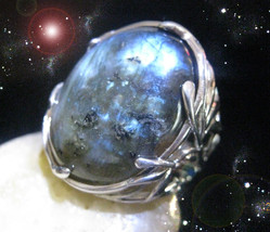 HAUNTED RING ALEXANDRIA FOLLOW MY PATH TO YOUR HIGHEST POWER OOAK SCERET MAGICK  - $4,653.89