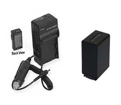 Battery + Charger For Sony HDRXR160E HDRPJ50V HDRPJ50VE NEX-VG10 NEXVG10E - $44.89