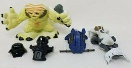 Star Wars mixed lot of 5 including a 2001 Playskool Wampa, some vehicles, armor - $15.54