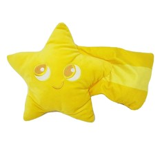 "14"" DISNEY STORE PIXAR PIER YELLOW SHOOTING STAR PILLOW STUFFED ANIMAL P... - $45.82"