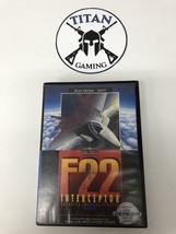 F22 Interceptor (Sega Genesis, 1991) - $9.50