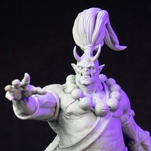 Warrior - Oni - Mage - 3D - Printed HQ - Resin Miniature - Unpainted - 32 and 75 - $14.99