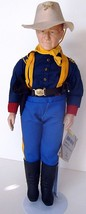 John Wayne American Guardian of the West Doll by Effanbee - $34.64