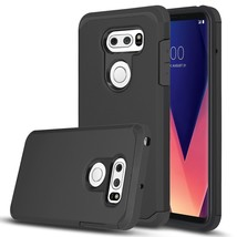LG V30 Case, LG V30s ThinQ Case, Venoro Shockproof Slim Anti Scratch Hyb... - $15.45