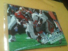 1998 Jamal Anderson, Fleer Cards, Football Card In Plastic Sleeve - $2.00