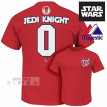 Washington Nationals NEW Star Wars Jedi Knight MLB Jersey Shirt Mens Maj... - $21.77
