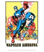 Marvelmania Captain America 24 x 36 Reproduction Character Poster - $45.00