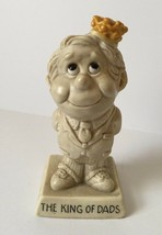 1973 Vintage W & R Berries Sillisculpt Statue Figurine The King of Dads ... - $7.92