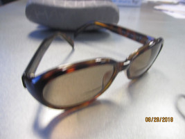 Calvin Klein Prescription 3037S Sunglasses w/Grey CK Case w/Cleaning Cloth - $25.95