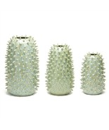 Tozai Home Spikes Set of 3 Green Blue Vases (#YCH105-S3) - $177.21