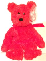TY BEANIE BABIES 2001 COLLECTIBLE – Sizzle the Bear – RETIRED - MWMT - $10.54