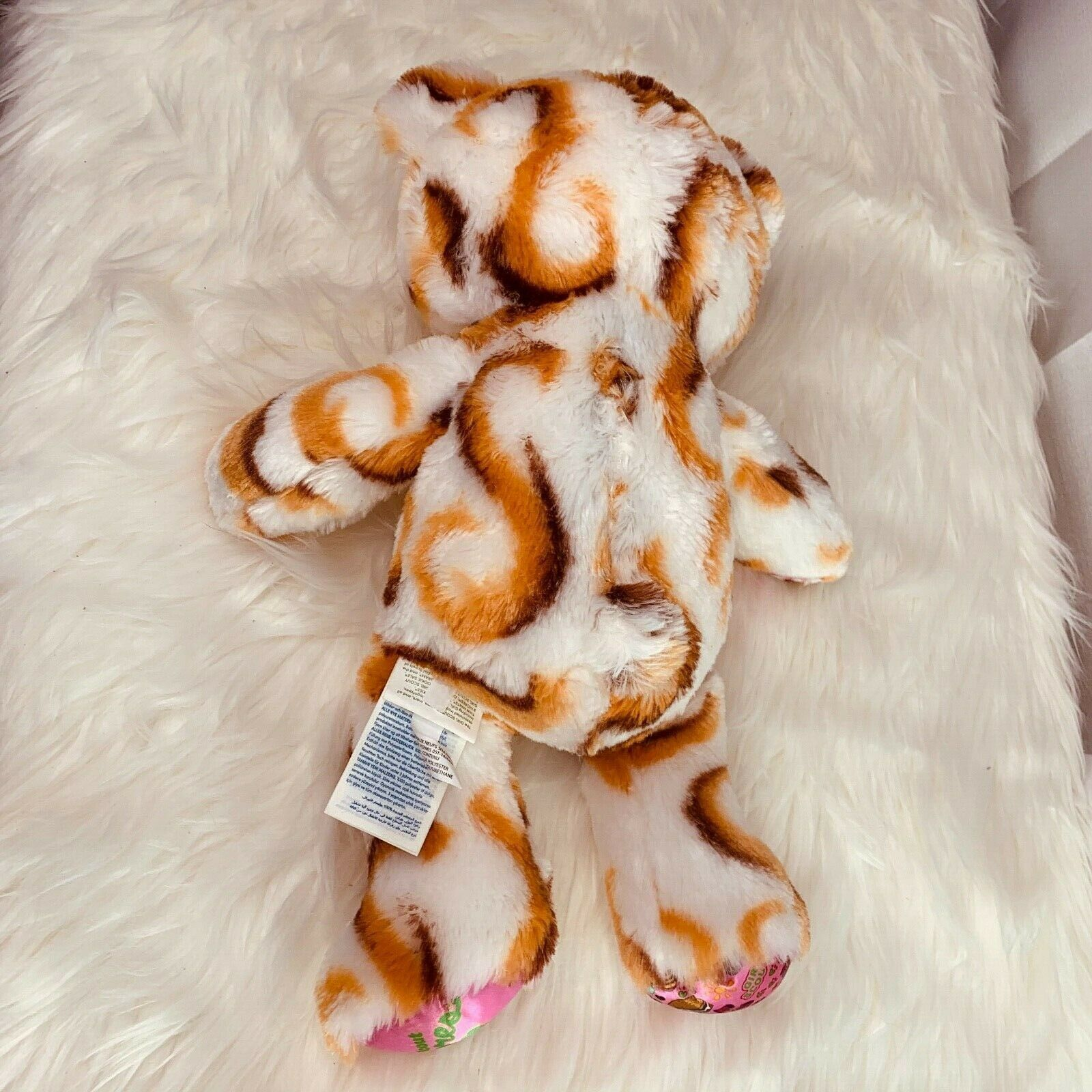 """Build A Bear Plush Girl Scouts Smores Bear Stuffed Animal Toy 15"""" Tall"""