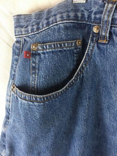 """Zani Di Denim Blue Jean Shorts Size 24 Waist 42""""  Cotton High Waist"""