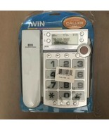 jWIN JTP590WHT Corded Speaker Phone with Caller ID (White) - $30.00