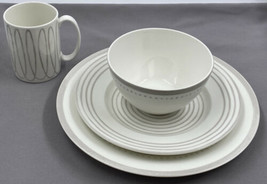 Kate Spade New York Lenox Charlotte Street West Grey 4 Pc Place Setting - $64.34