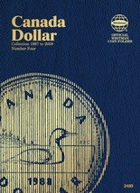 Canada Dollar No. 4, 1987-2008, Whitman Coin Folder - $5.75