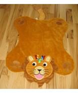 Baby Einstein Large 36x30 Lion Blanket Plush Play Mat Nursery Decor Rug - $19.78