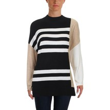 Vince Camuto Womens Drop Shoulder Colorblock Turtleneck Sweater Top Size XXS $89 - $13.60