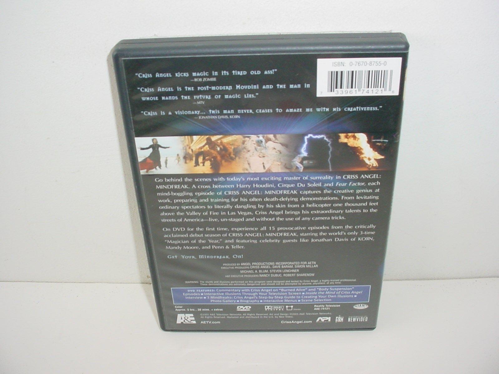 Criss Angel MindFreak The Complete Season One DVD