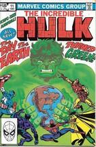 The Incredible Hulk Comic Book King-Size Annual #11 Marvel 1982 VFN/NEAR MINT - $6.43
