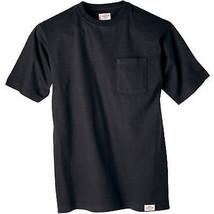 Pocket T-Shirt, Black, Men's XL, 2-Pk. - $28.70