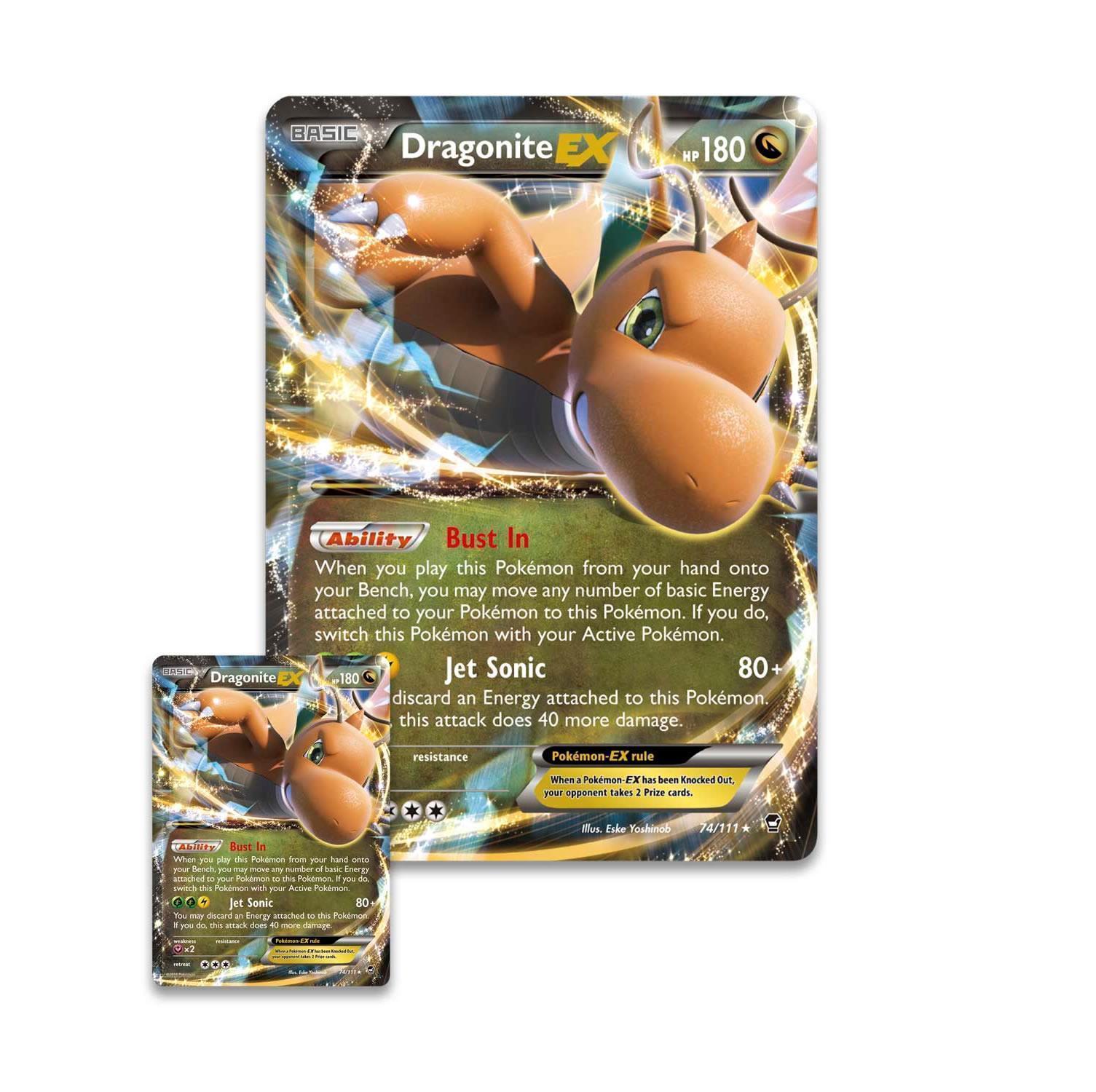 Ash-Greninja EX Box + Dragonite EX Box POKEMON TCG Sealed Booster Packs