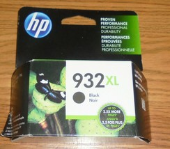 Genuine HP 932XL Black Ink Cartridge Dated 2022 New (CN053AN) 932 XL - $24.30