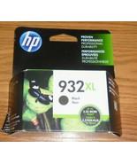 Genuine HP 932XL Black Ink Cartridge Dated 2022 New (CN053AN) 932 XL - $24.30