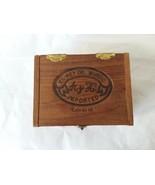 Empty Wood Cigar Box El Rey Del Mundo W A y H Cafe Au Lait Spanish Hondu... - $14.84