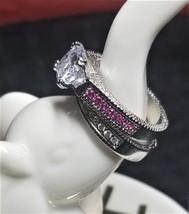 Bella 2k Engagment Wedding Ring Set - Size 6.5 - $45.00