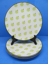 """Lenox Kate Spade Wickford Orchard Accent 9"""" Luncheon Plate Set Of 3 Plat... - $38.22"""