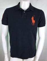 Polo Ralph Lauren Mens Large Shirt Rugby Blue - $23.23