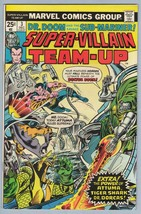 Super-Villain Team-Up 3 Dec 1975 VF (8.0) - $13.05