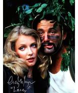 "Cindy Morgan signed Caddyshack 16x20 Photo Inscribed ""Lacey"" w/ Bill Mur... - $44.95"