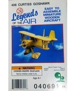 Legends of the Air Wooden Aircraft Curtiss Goshawk by Legends of the Air... - $8.67