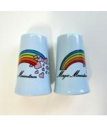 Vintage Magic Mountain Amusement Park Salt &  Pepper Shakers - Made in J... - $7.99