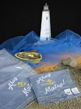 POTTERY BARN AHOY MATEY CLOTH NAPKINS (2) –NWT- GET THE KIDS' SETTINGS S... - $24.95